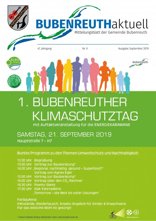 Bubenreuth aktuell September 2019