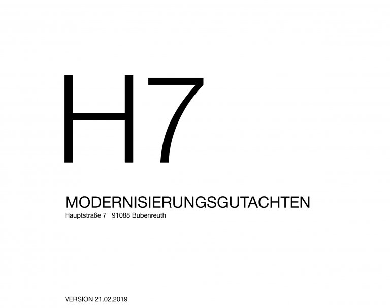 Modernisierungsgutachten H7